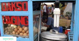 Penjual Bakso Ludahi Mangkok