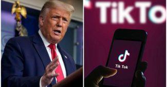 Donald Trump Blokir TikTok