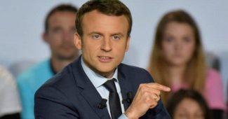 Presiden Prancis Hina Islam