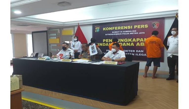 Praktek Aborsi Ilegal di Bekasi, Pasangan Suami Istri Diamakan