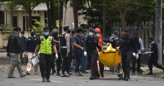 Korban Bom Bunuh Diri Makassar Akan Menjalani Operasi