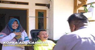 Disengat Tawon Ndas Prajurit Kostrad Ini Menjadi Lumpuh