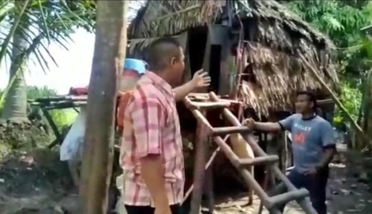 Pasangan Lansia Viral di Sumatera Selatan Tinggal di Kandang Ayam Dari 7 Tahun Lalu