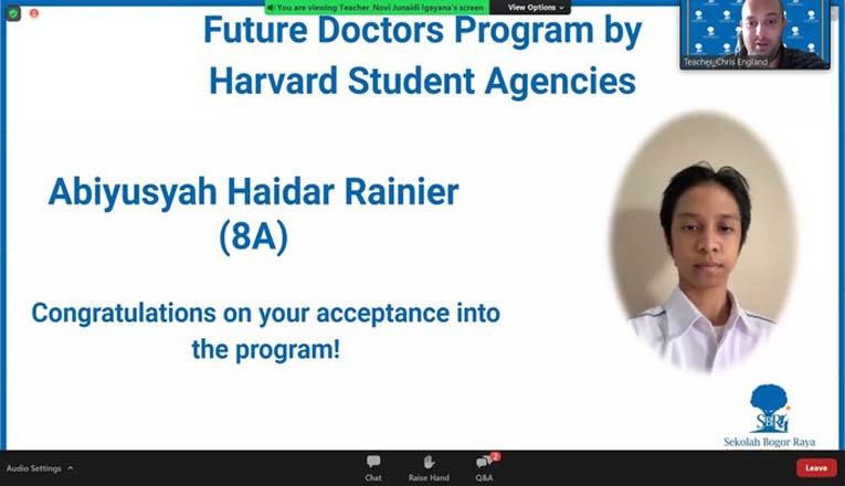 Cerita Heydar Rainier, Siswa Berusia 13 Tahun Yang Lolos Program Pra-Kedokteran Harvard